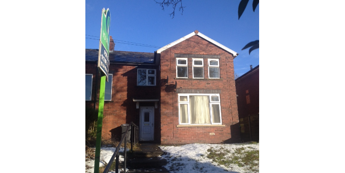 2 bed semi detached
